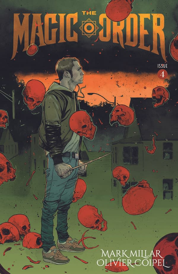 The Magic Order #1 by Mark Millar and Olivier Coipel