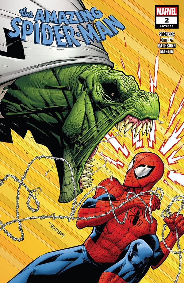Amazing Spider-Man #2 cover by Ryan Ottley and Laura Martin