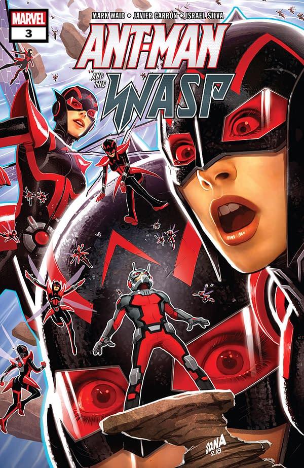 Ant-Man and the Wasp #3 cover by David Nakayama