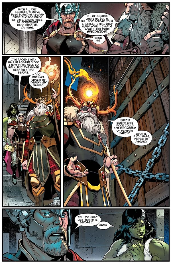 Avengers #4 art by Paco Medina, Juan Vlasco, Mark Morales, and David Curiel