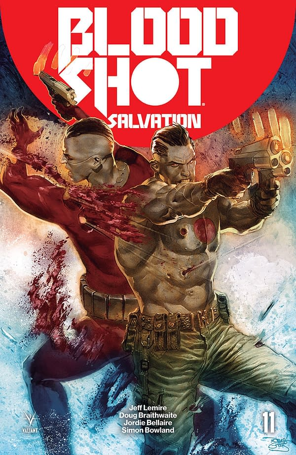Valiant Previews Bloodshot Salvation #11, Archer & Armstrong Deluxe Edition