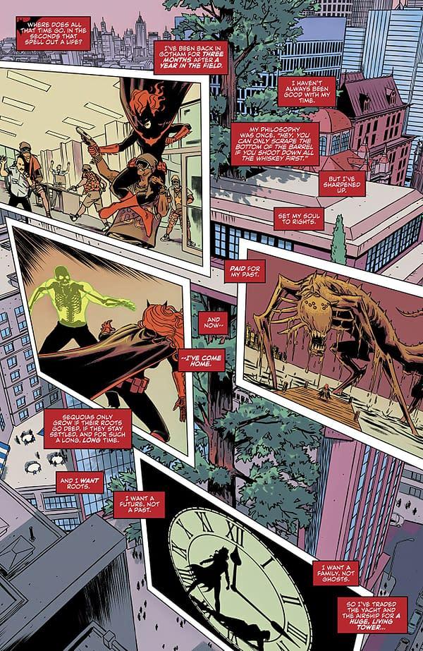Batwoman #17 art by Fernando Blanco and John Rauch