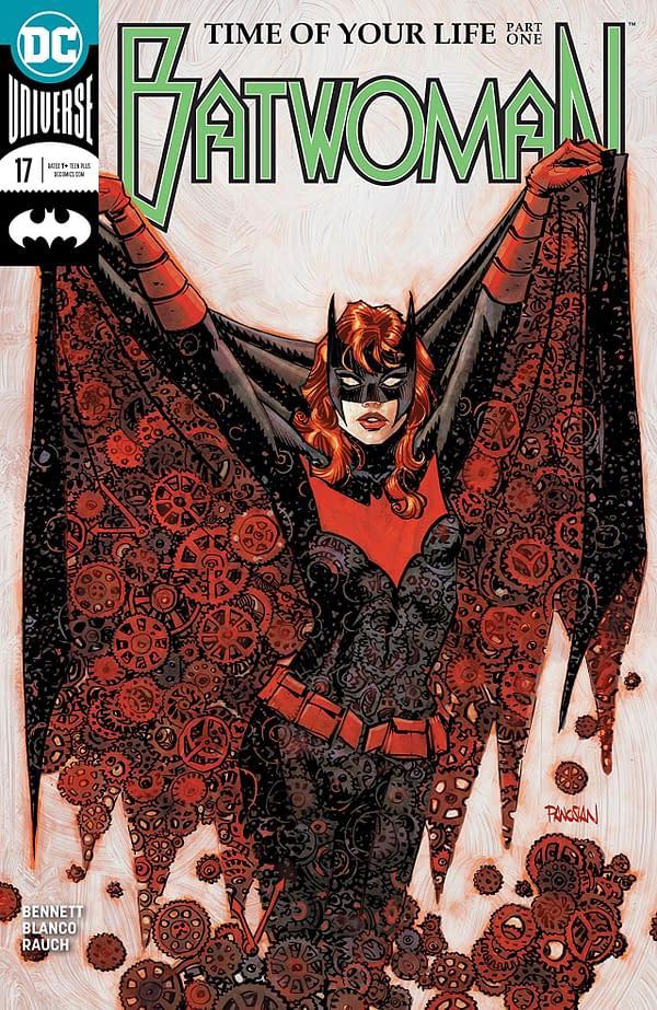 Batwoman #17 cover by Dan Panosian