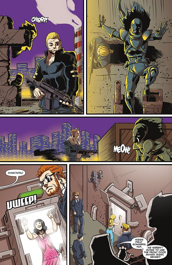 Black AF: Widows and Orphans #2 art by Tim Smith 3 and Derwin Roberson