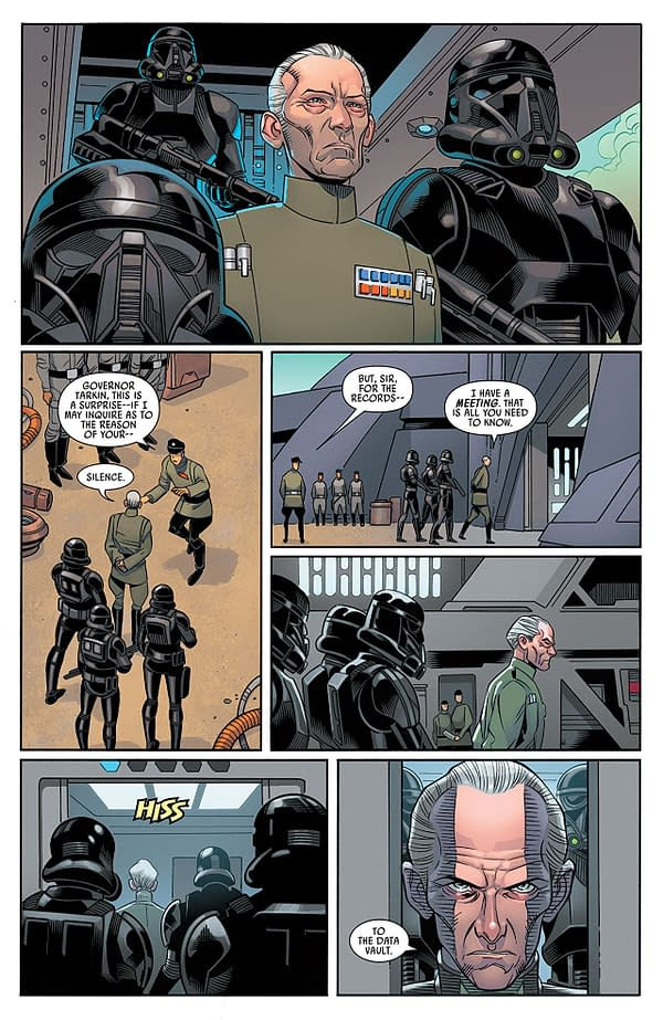 Darth Vader Annual #2 art by Leonard Kirk, Walden Wong, Scott Hanna, and Nolan Woodard