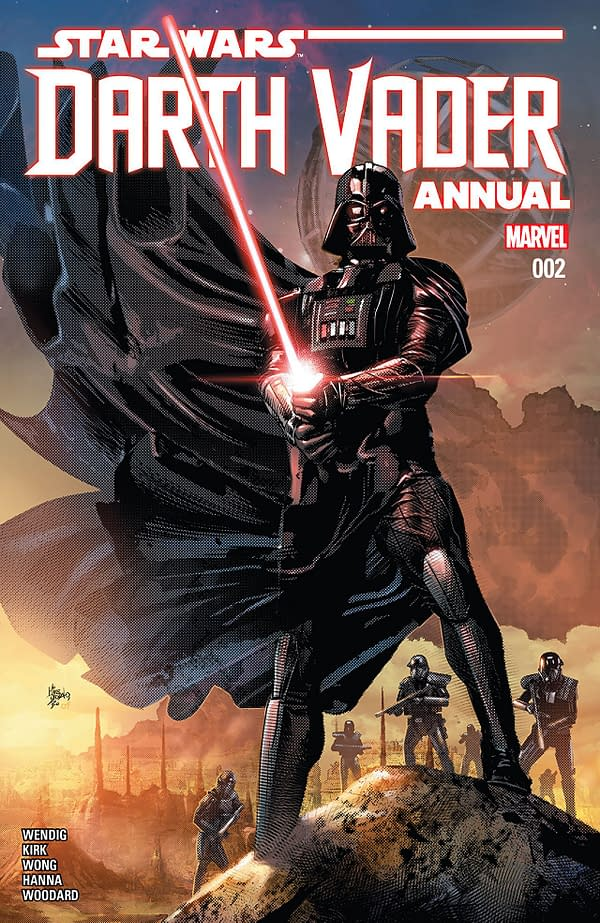 Darth Vader Annual #2 cover by Mike Deodato Jr. and Arif Prianto
