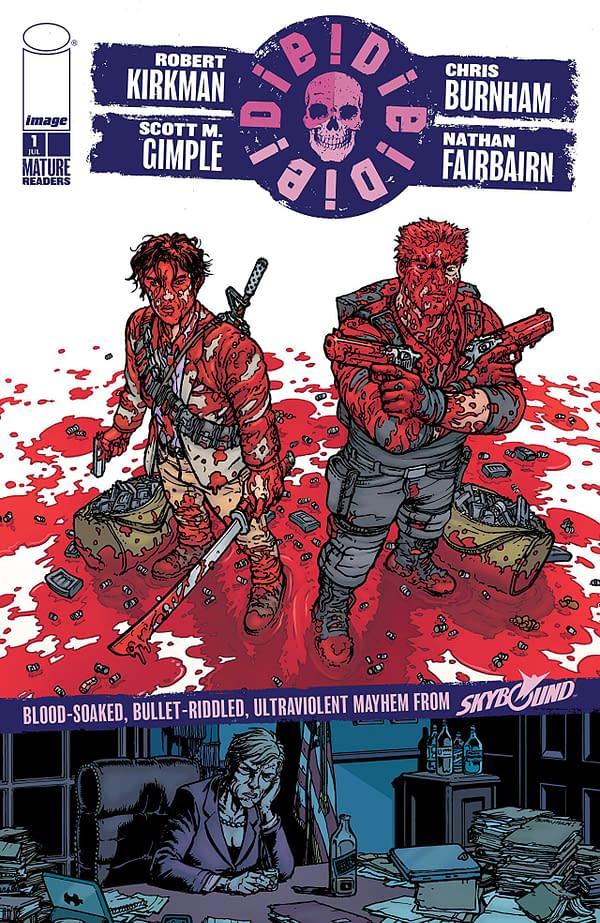 Die Die Die #1 cover by Chris Burnham and Nathan Fairbairn