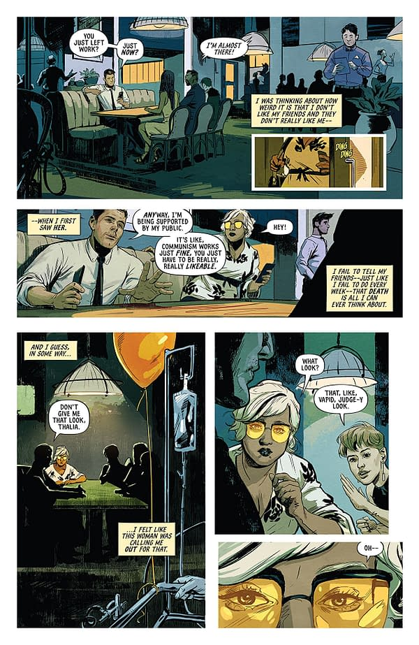 Euthanauts #1 art by Nick Robles