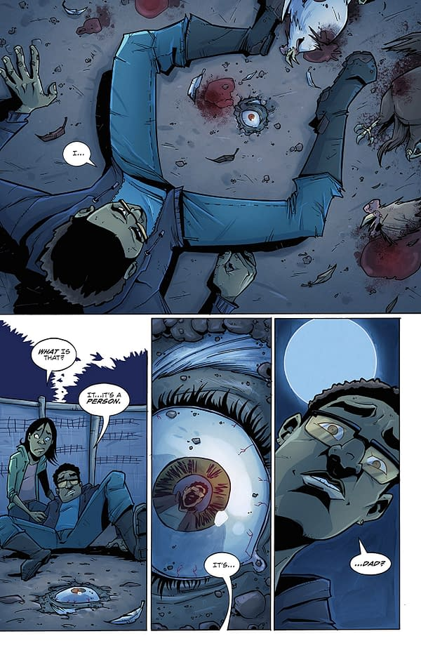 Farmhand #1 art by Rob Guillory and Taylor Wells