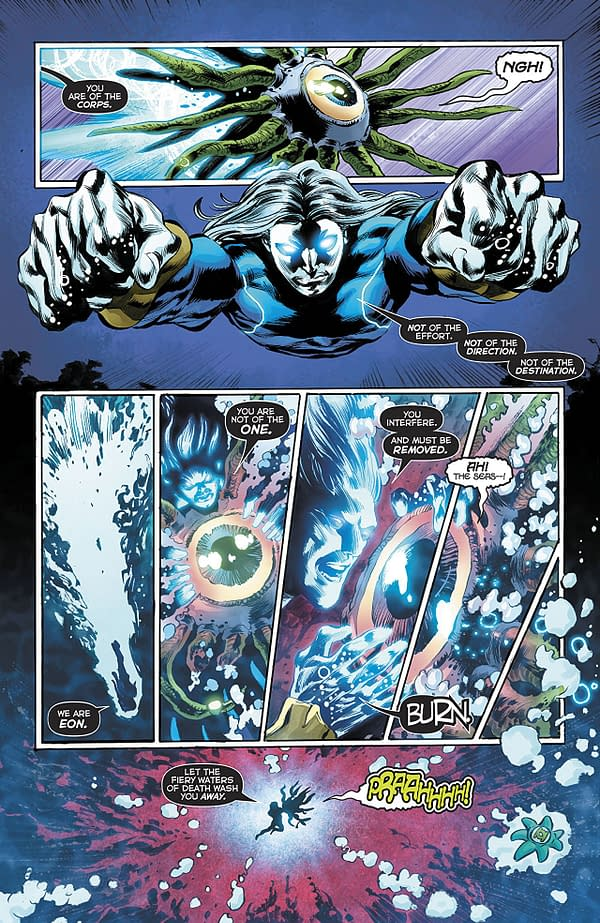 Green Lanterns #51 art by Mike Perkins and Hi-Fi