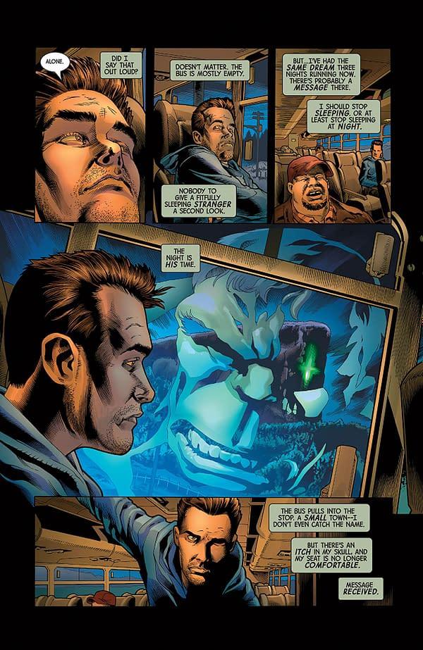 The Immortal Hulk #2 art by Joe Bennett, Ruy Jose, and Paul Mounts