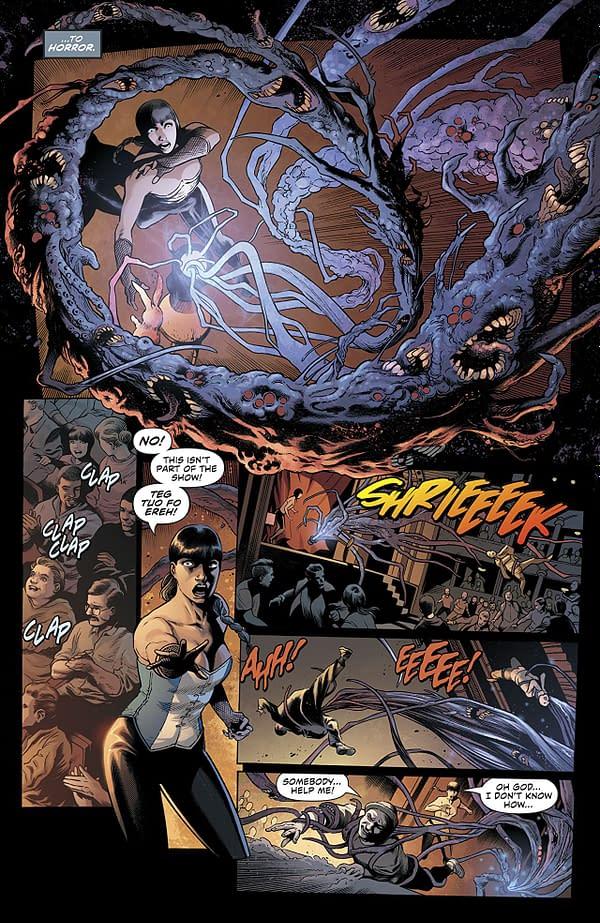 Justice League Dark #1 art by Alvaro Martinez Bueno, Raul Fernandez, and Brad Anderson