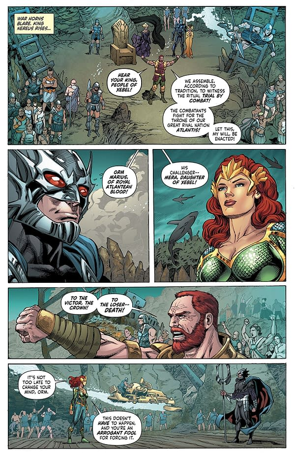 Mera: Queen of Atlantis #6 art by Lan Medina, Norm Rapmund, and Veronica Gandini