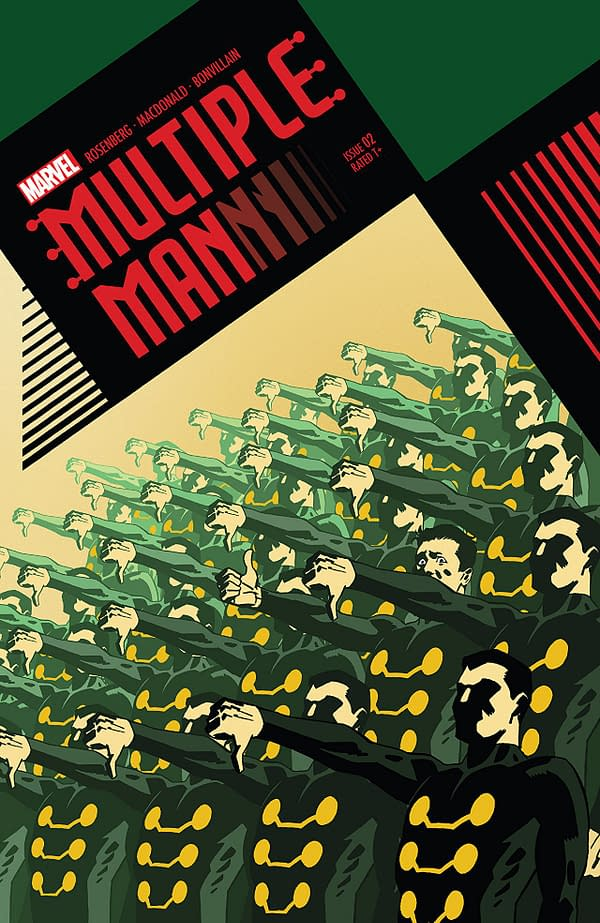 X-ual Healing: Weaponized Silliness in Multiple Man #2