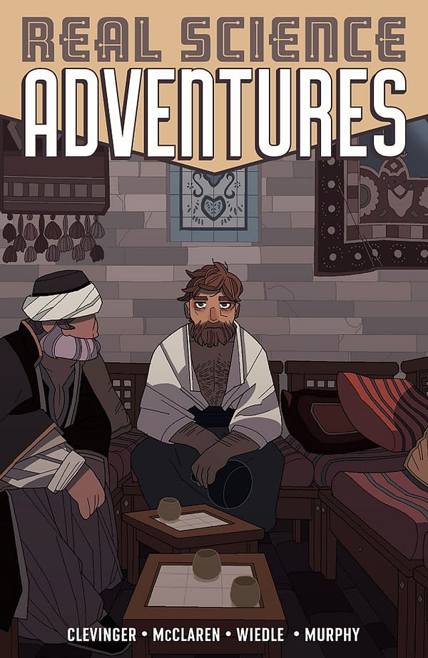 Real Science Adventures: The Nicodemus Job #1 cover by Meredith M. McClaren