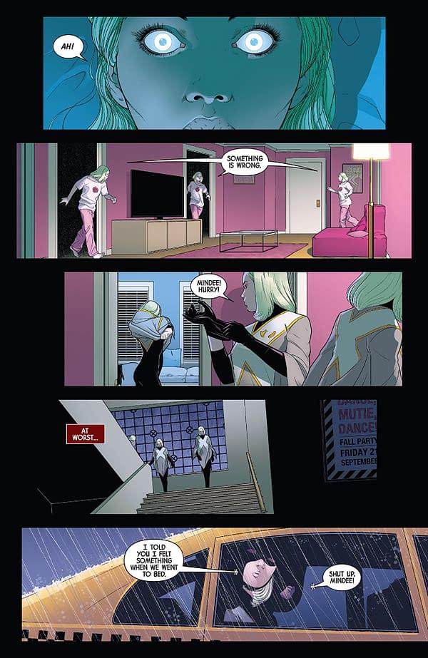 X-23 #2 art by Juann Cabal and Nolan Woodard