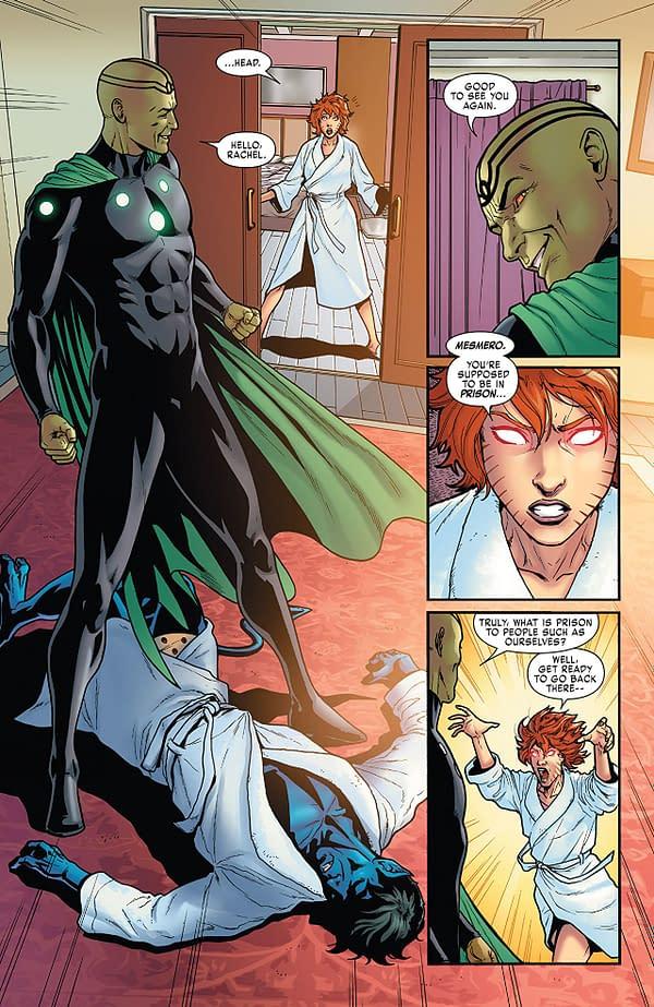 X-Men: Gold #31 art by Pere Perez, Jay David Ramos, and Matt Milla