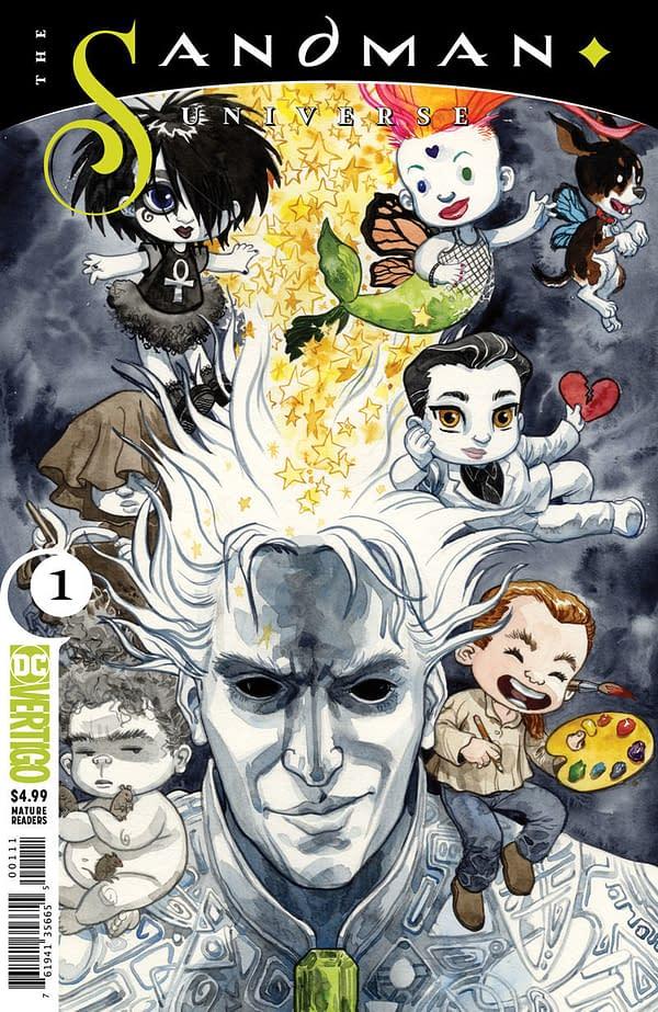 David Mack Joins Classic Sandman Creators for Sandman Universe Covers