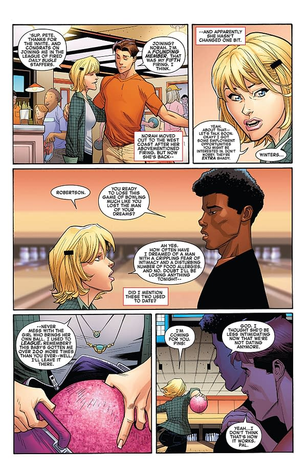 Amazing Spider-Man #3 art by Ryan Ottley, Cliff Rathburn, and Laura Martin