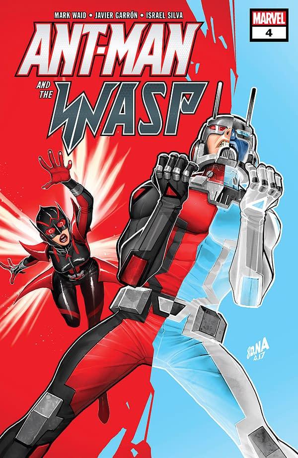 Ant-Man and the Wasp #4 cover by David Nakayama