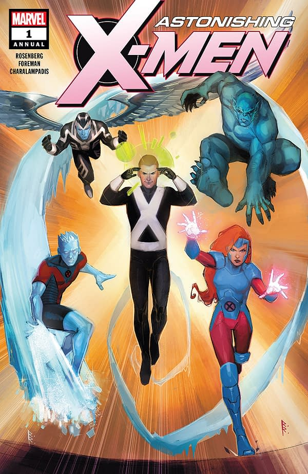 Astonishing X-Men Annual #1 cover by Rod Reis