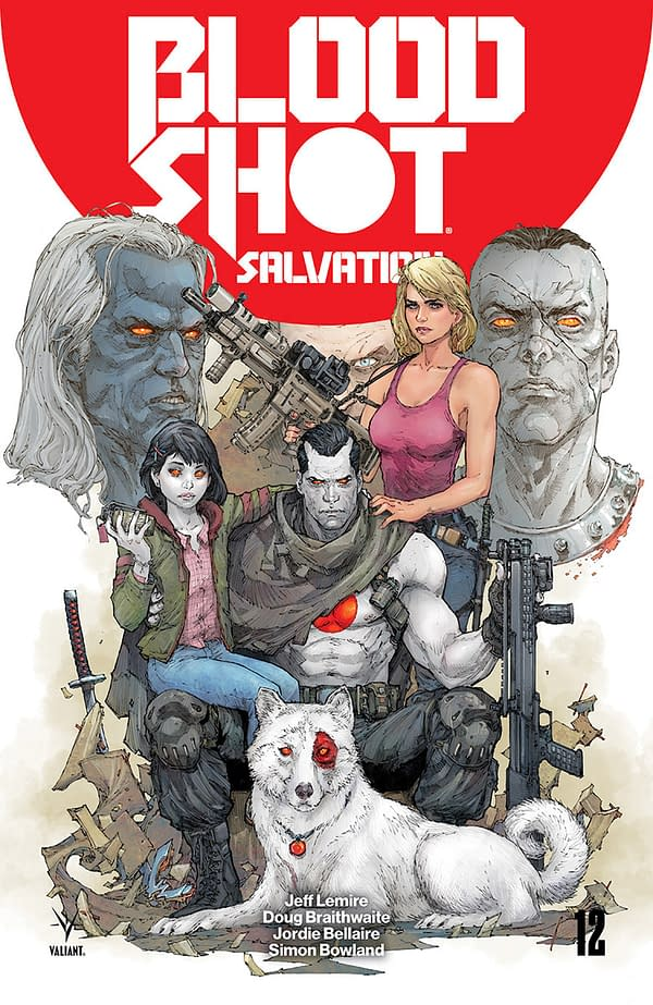 All of Valiant's Previews for August 8 (Which Consist Only of Bloodshot Salvation #12 – Final Issue)