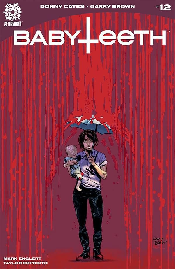 Babyteeth #12 cover by Garry Brown