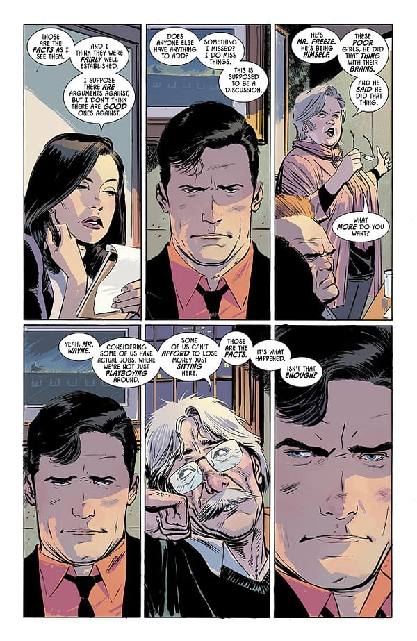 Batman #52 art by Lee Weeks and Elizabeth Breitweisers