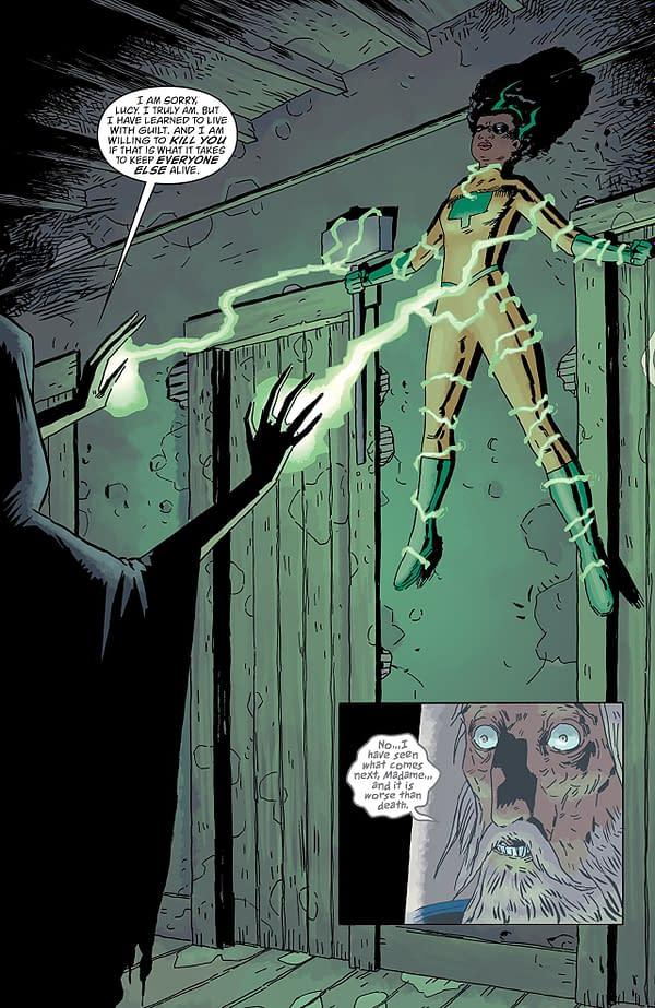 Black Hammer: Age of Doom #4 art by Dean Ormston and Dave Stewart