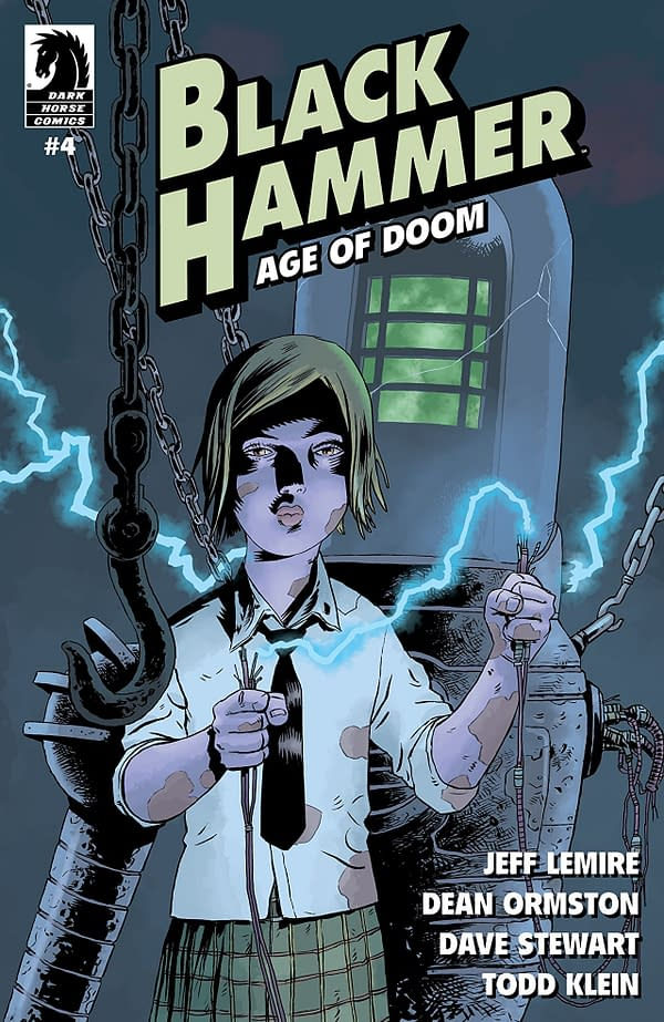 Black Hammer: Age of Doom #4 cover by Dean Ormston and Dave Stewart
