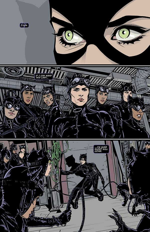 Catwoman #2 art by Joelle Jones and Laura Allred
