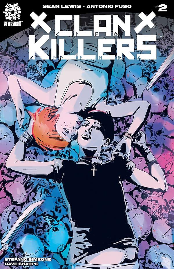Clankillers #2 cover by Antonio Fuso and Stefano Simeone