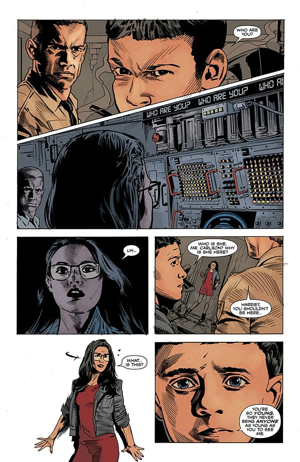 The Dead Hand #5 art by Stephen Mooney and Jordie Bellaire