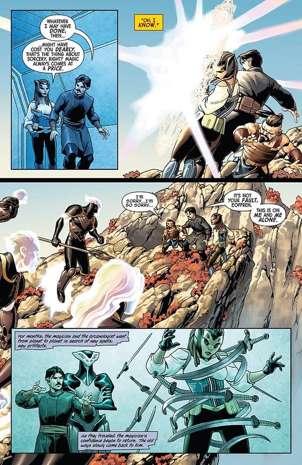 Doctor Strange #4 art by Jesus Saiz