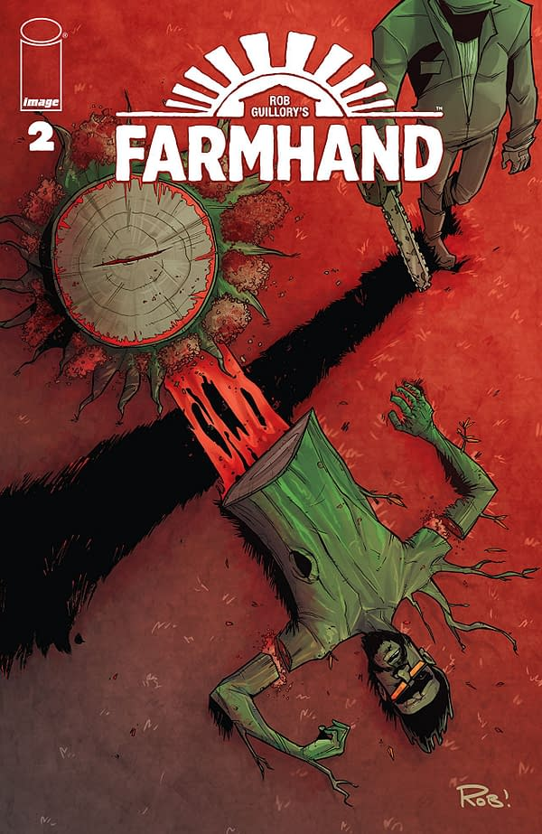 Farmhand #2 cover by Rob Guillory