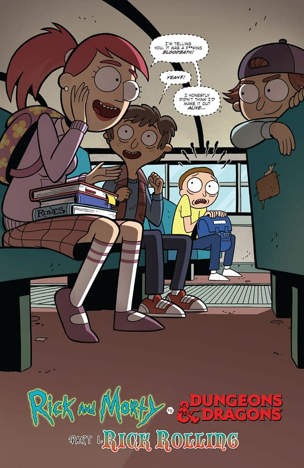 When Morty Discovers Dungeons & Dragons Will 'Get Him Laid'…