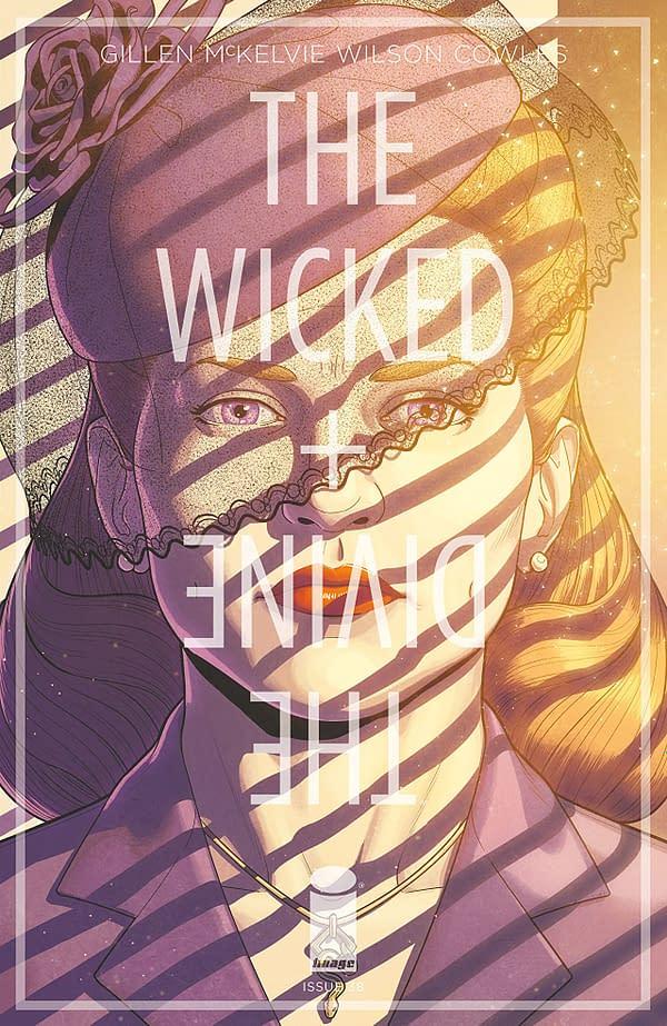 The Wicked + the Divine #38 art by Jamie McKelvie and Matthew Wilson