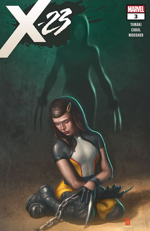 X-23 #3 cover by Mike Choi and Jesus Aburtov