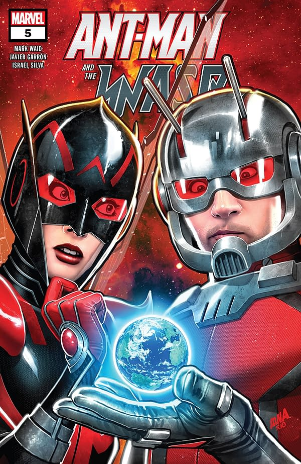 Ant-Man and the Wasp #5 cover by David Nakayama