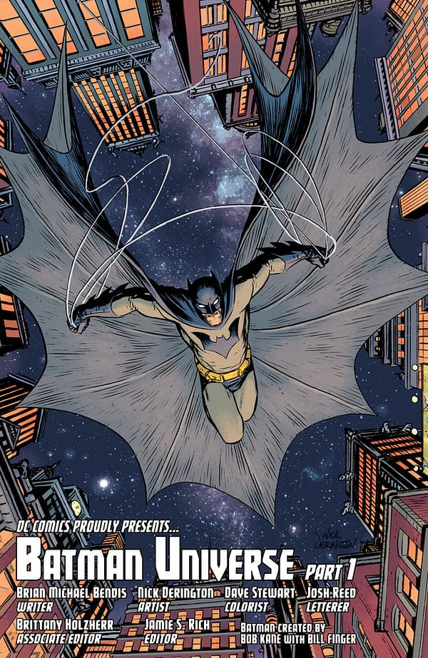 Preview Brian Bendis and Nick Derington's Batman 100-Page Giant #3 Story, (Maybe) In Your Walmart Soon