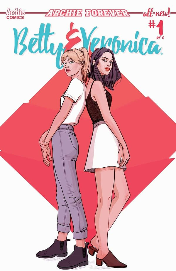 Sandra Lanz Replaces TBA as Artist on Betty & Veronica with Jamie L. Rotante