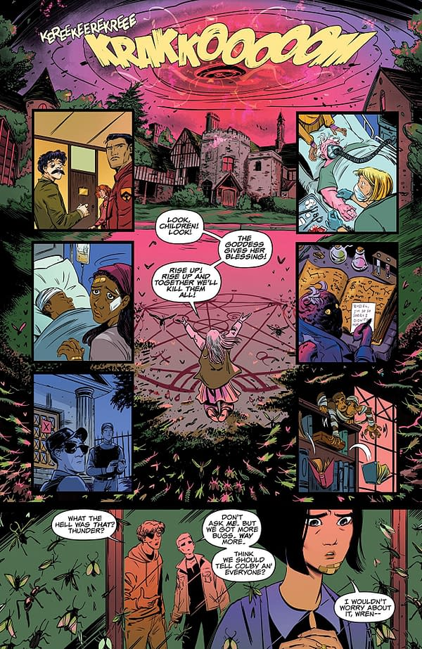 Blackwood #4 art by Veronica and Andy Fish