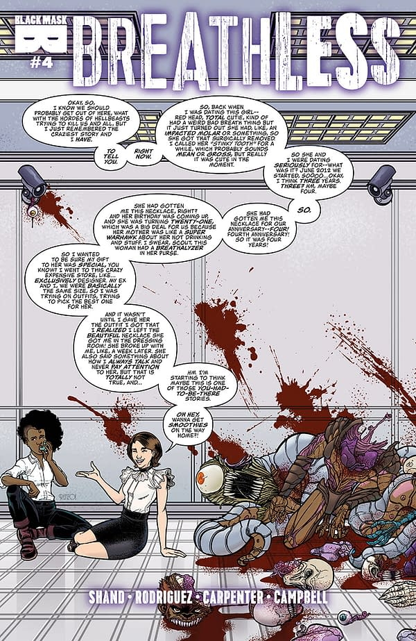 Body Horror! Annoying Co-Workers! It's Black Mask's Previews for September 5th!