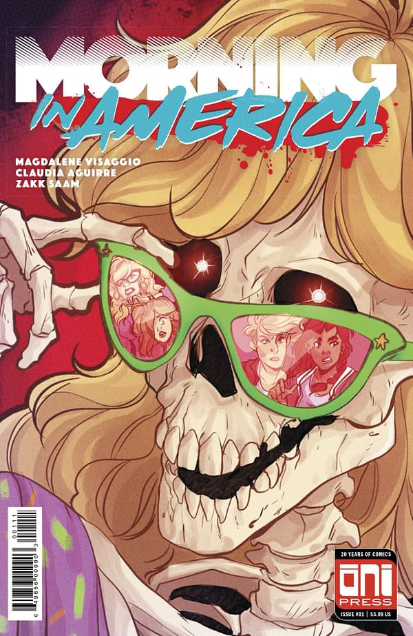 Magdalene Visaggio and Claudia Aguire Bring Morning in America to Oni Press in 2019