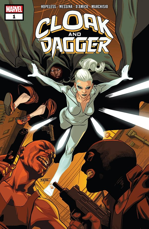 Cloak & Dagger Relaunched After Only 6 Issues as Cloak & Dagger: Negative Exposure