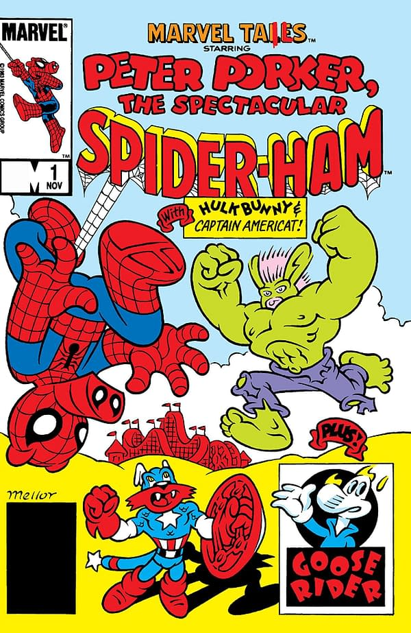 Marvel Unlimited Comes Into the Spider-Verse With Peter Porker: The Spectacular Spider-Ham