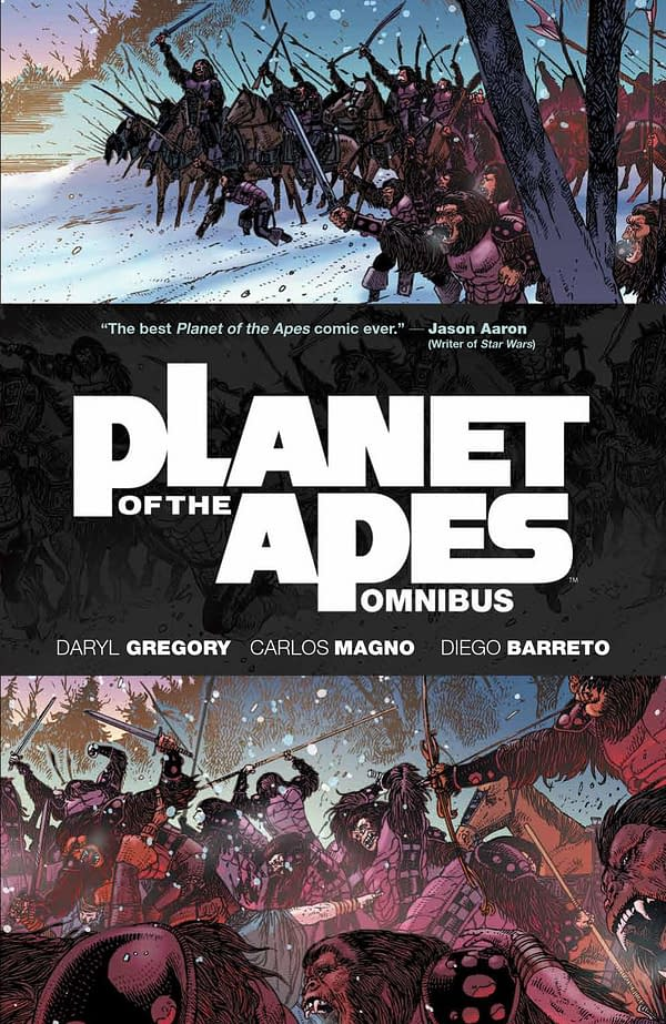 Political Intrigue and Military Might Collide with the Fantastic Planet of the Apes Omnibus