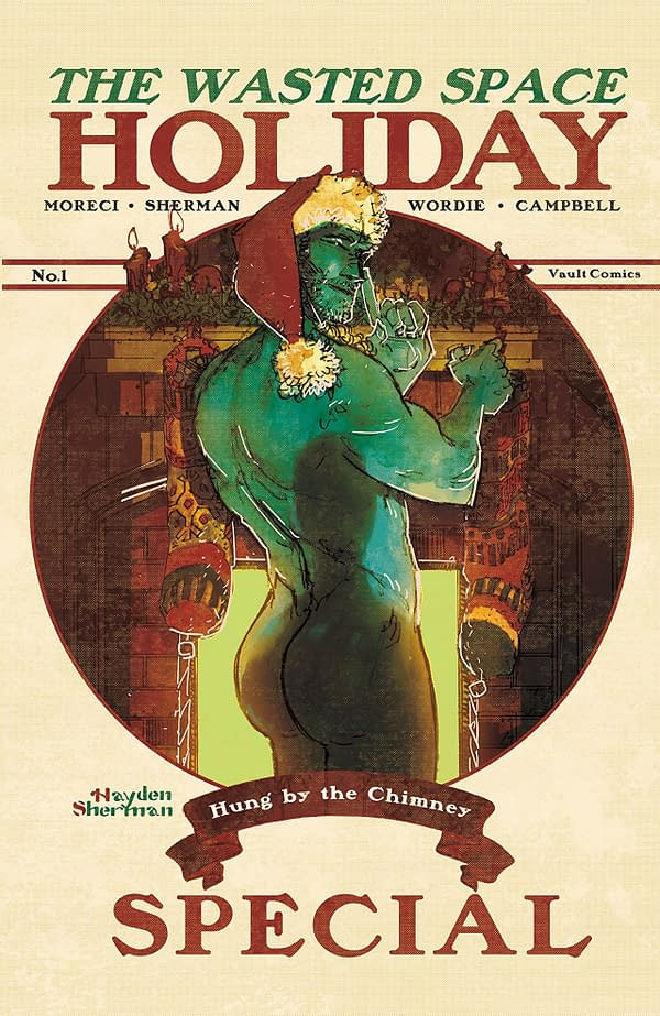 Vault Comics is Gifting Readers a Free Wasted Space Holiday Special This Wednesday