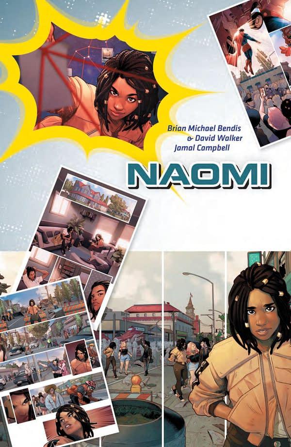 Reading Brian Bendis, David Walker and Jamal Campbell's Naomi for DC's Wonder Comics