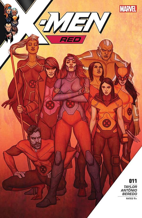 In Goodbye Post for X-Men Red, Tom Taylor Says He Could Have Written Series for Years